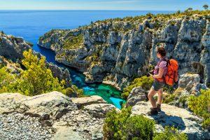Randonnées dans le Parc National des Calanques à Marseille